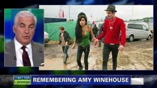 Amy Winehouse's dad blames ex for drugs