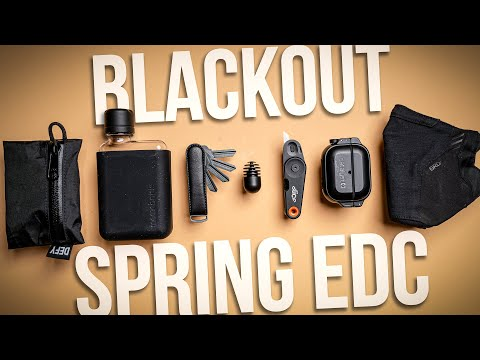 Blackout Spring EDC 2021 (Everyday Carry) – What's In My Pockets Ep. 42
