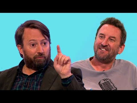 Did Lee Mack skip Prince Harry's Wedding because of Would I Lie to You? [HD][CC-EN,NL]