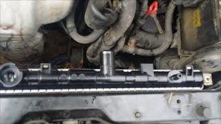 2003 Hyundai Elantra, Hyundai Tiburon GT radiator replacement