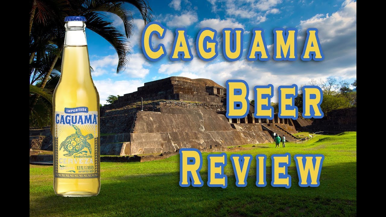 caguama cerveza beer review youtube
