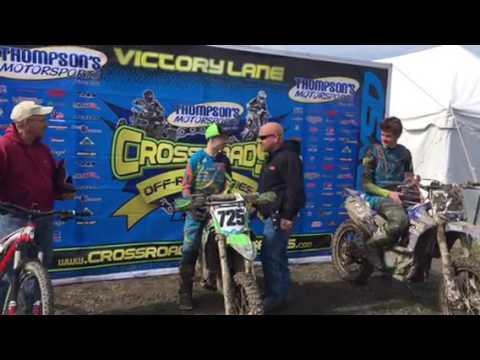 Crossroads Rd 1 AM Bike Coal Dust Run at Staunton MX Top 3 Podium out of 78 Entries