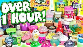 OVER 1 HOUR Of Slime Mixing! Slime Smoothie Compilation! Doctor Squish