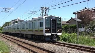 (JR東)宇都宮線・日光線E131系公式試運転