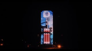 Delta IV Heavy: 3D Projection Mapping Experience