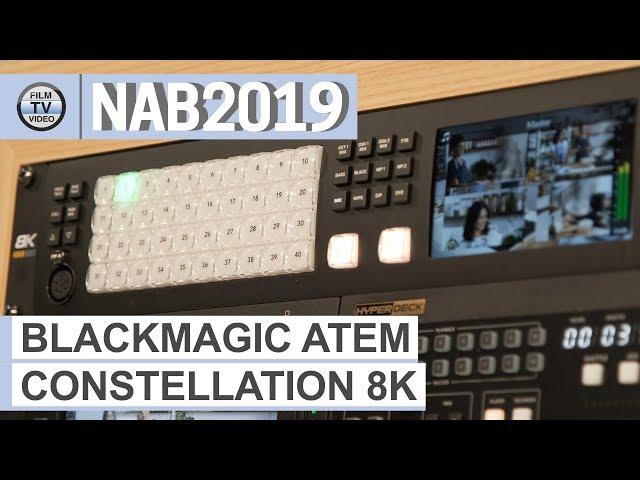 NAB2019: Atem Constellation 8K