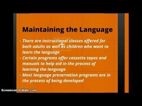 Ojibwe Language