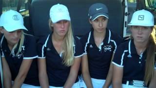 Oaks Christian girls golf team