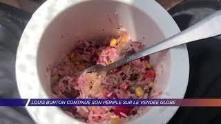 Yvelines | Louis Burton continue son périple sur le Vendée Globe