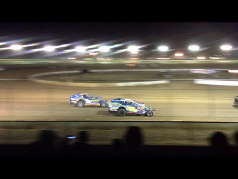 Bridgeport Speedway - 3/30/13 - Hoffman Memorial - Pace lap and opening green