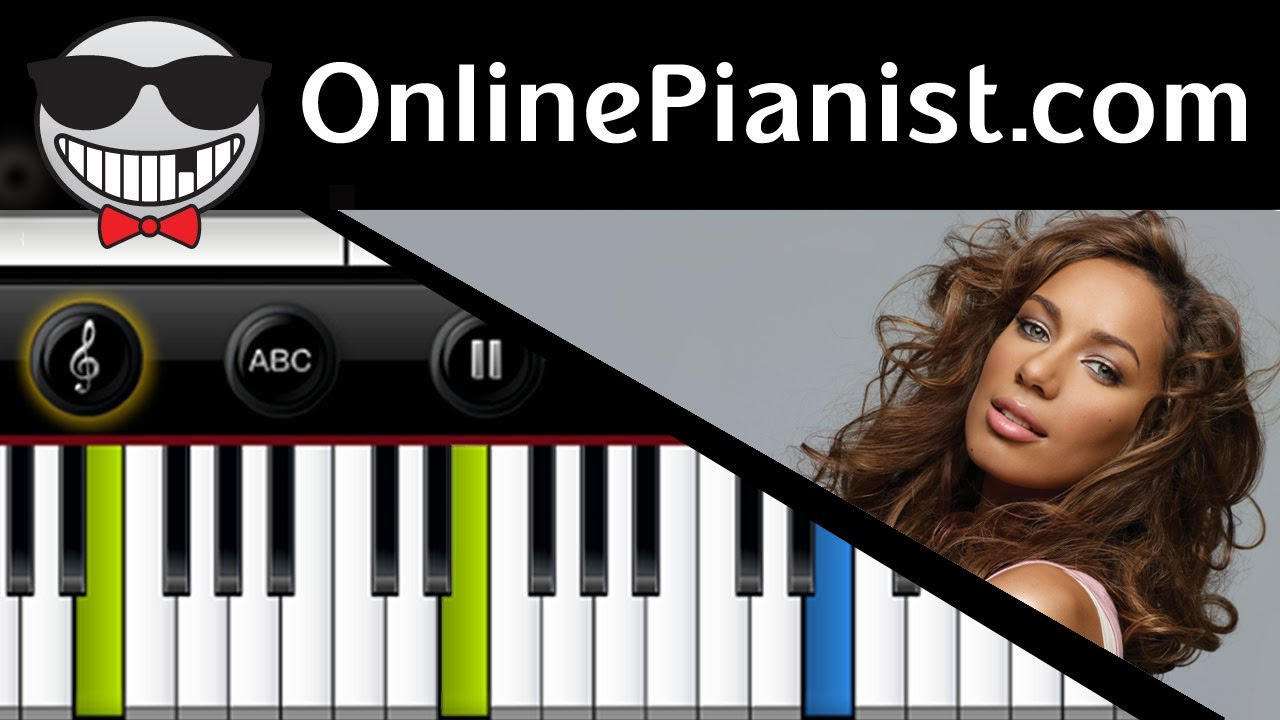 Leona lewis better in time piano tutorial sheets beginner leona lewis better in time piano tutorial sheets beginner intermediate youtube hexwebz Images