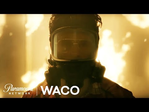 'WACO'  NEW Series First Look Starring Michael Shannon & Taylor Kitsch  Paramount Network