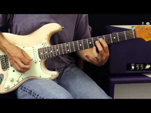 Rock and Roll Hoochie Coo by Rick Derringer - Guitar Lesson