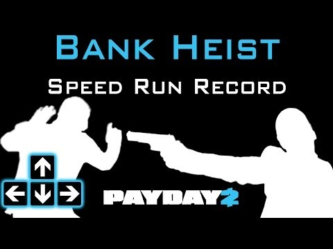Payday 2 - Bank Heist Speed Run Solo Stealth - 5:38 - Personal Record