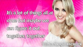 Emily Osment - You Get Me Through (Lyrics Video) HD