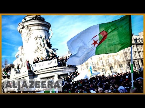 🇫🇷🇩🇿 France protests call for Algeria's Bouteflika to step down | Al Jazeera English