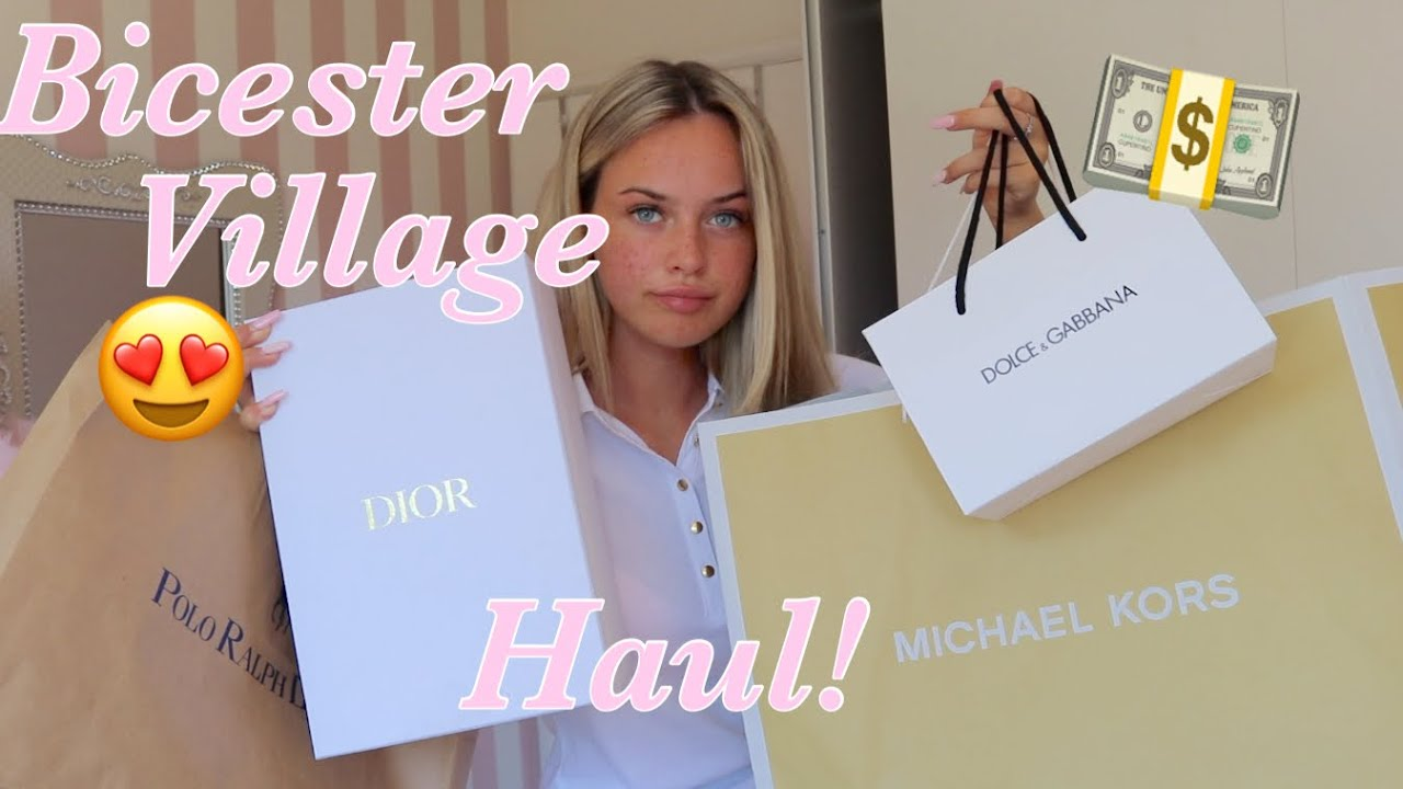 Bicester Village *LUXURY* Haul!🔥- Dior, Juicy Couture, Micheal Kors & More!😱💕