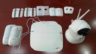 Setting up the MiGuard Home Security System