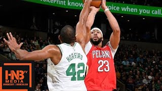 Boston Celtics vs New Orleans Pelicans Full Game Highlights / Jan 16 / 2017-18 NBA Season