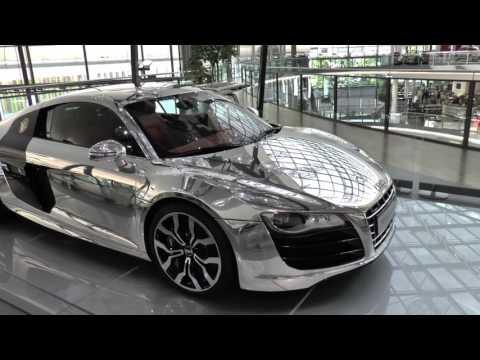 Neuwagenabholung im Audi Forum Neckarsulm