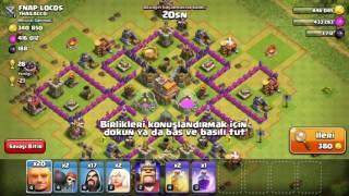 Clash of clans teknik saldırma