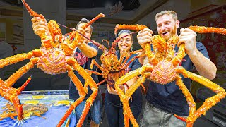 BIGGEST CRABS in the WORLD!!! $3400 MONSTER Chinese Seafood FEAST in China!