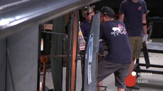 Hot Shop LIVE:Visiting Artist- Sidney Hutter: Live glassblowing from the Museum of Glass, Tacoma,...
