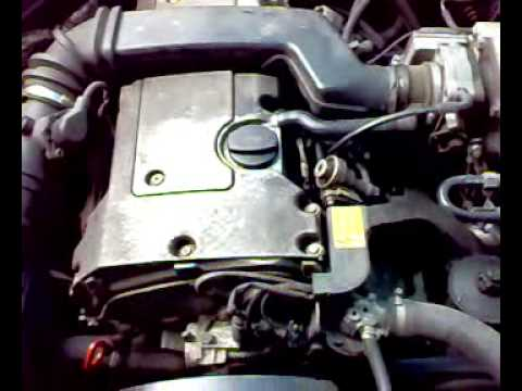 Mercedes W124 E220 Engine cold start after 8 weeks YouTube