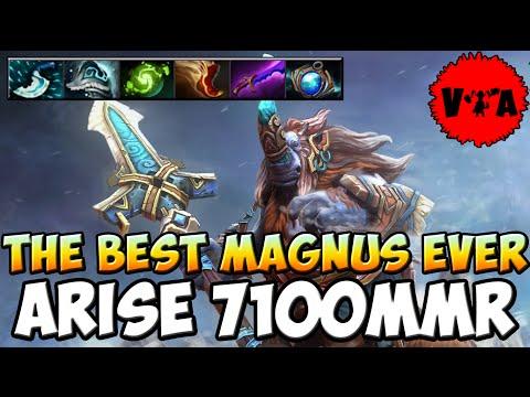 Dota 2 - Ar1Se 7100 MMR Plays Magnus vol #1 - Ranked Match