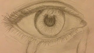 Speed Drawing: Teary Eye -ripnormalityTV