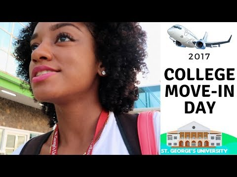 Back to SGU - College Move in Day! (Travel Vlog)