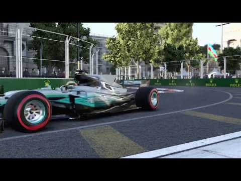 F1 2017 RENAULT SPORT FORMULA ONE TEAM in AZERBAIJAN [PS4]