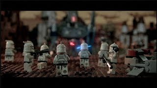 LEGO Star Wars The Clone Wars Story: The Journey of a Soldier (Brickfilm animation MOVIE)