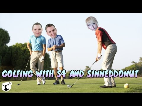 Golfing With S4 and Sinned (New Experimental Map And Basketball Golf)