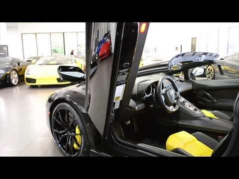 2014 Lamborghini Aventador LP 700-4 Roadster Nero Aldebaran LC271