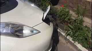 Наблюдение за батарейкой Nissan Leaf в теплое время года