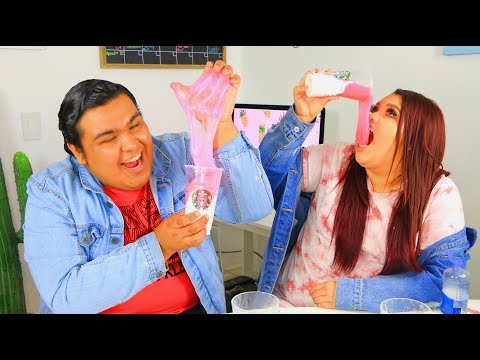 DIY Starbucks Ombre Slime With Karina Garcia