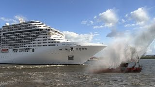 "The cruise ship MSC Splendida played the songs ""We Are The Champion..."