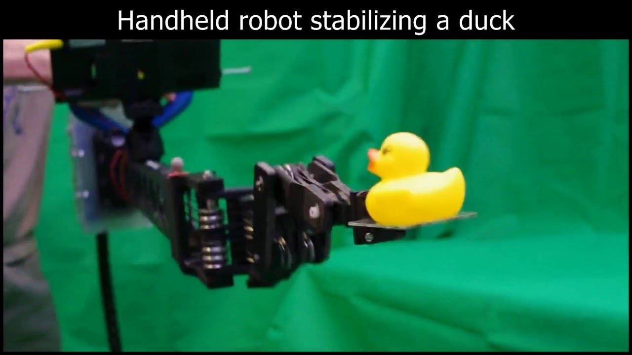 Inverse Kinematics and Design of a Novel 6-DoF Handheld Robot Arm