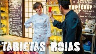 Tarjetas rojas  - Top Chef