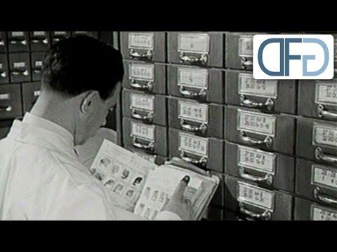 Das Bundeskriminalamt in den 50er Jahren (TV-Bericht aus 1957)
