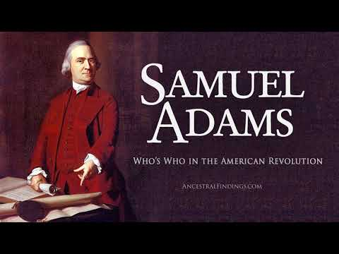 AF-191: Who's Who in the American Revolution: Samuel Adams