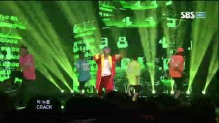 G-DRAGON [CRAYON] @SBS Inkigayo 인기가요 20121007