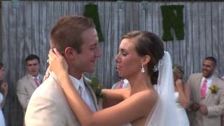 Ashley & Nolan's wedding at Morning Glory Farms. Produced by Giovanni Films of Charlotte NC