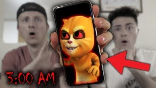 *SCARY* DO NOT CALL TALKING GINGER AT 3 AM! (FRIEND GOES MISSING?!?)