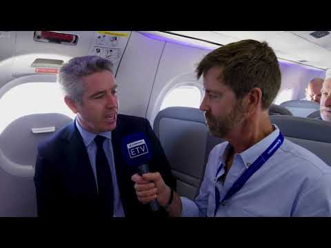 John Slattery at Farnborough Air