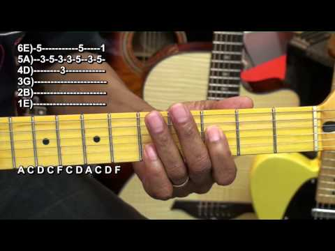How To Play Clean Up Woman BETTY WRIGHT Funk Bag Guitar Lesson EricBlackmonMusicHD