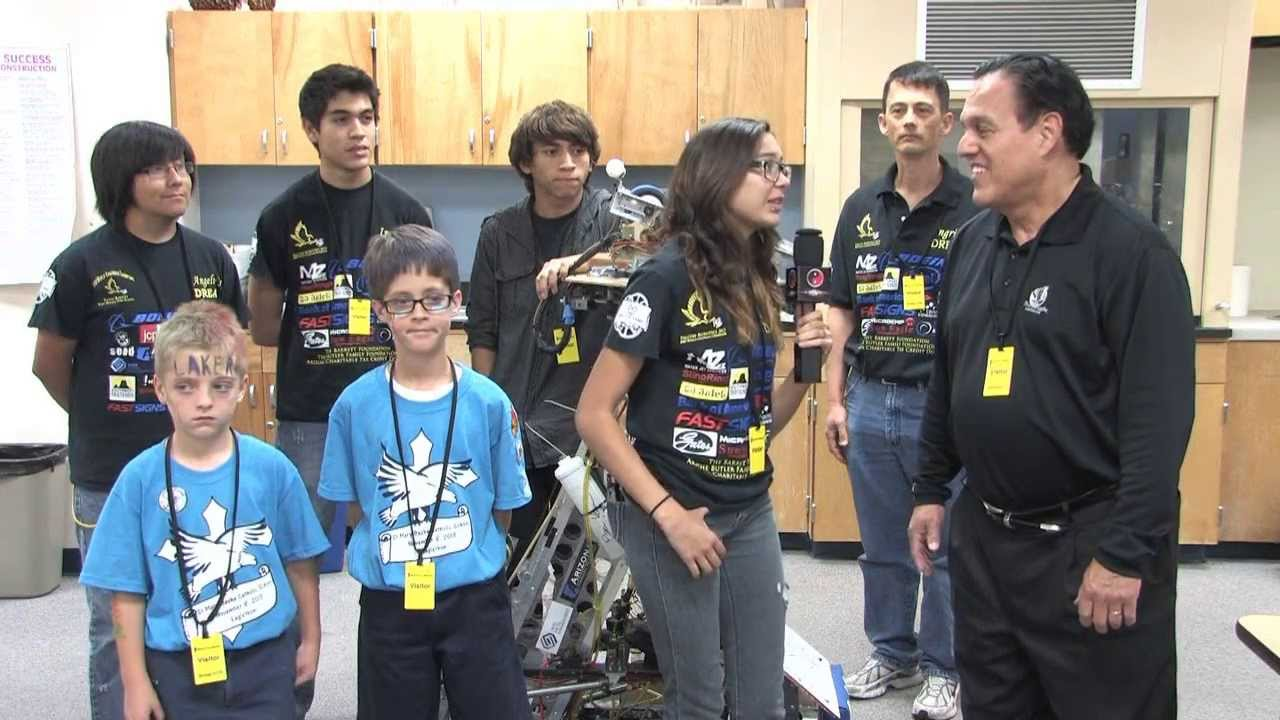 Carl Hayden High School Robotics Team Youtube