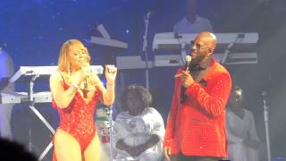 mariah carey r kelly the christmas song live at the beacon theatre 12 8 16