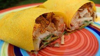 Southwestern Grilled Chicken Paleo Wrap
